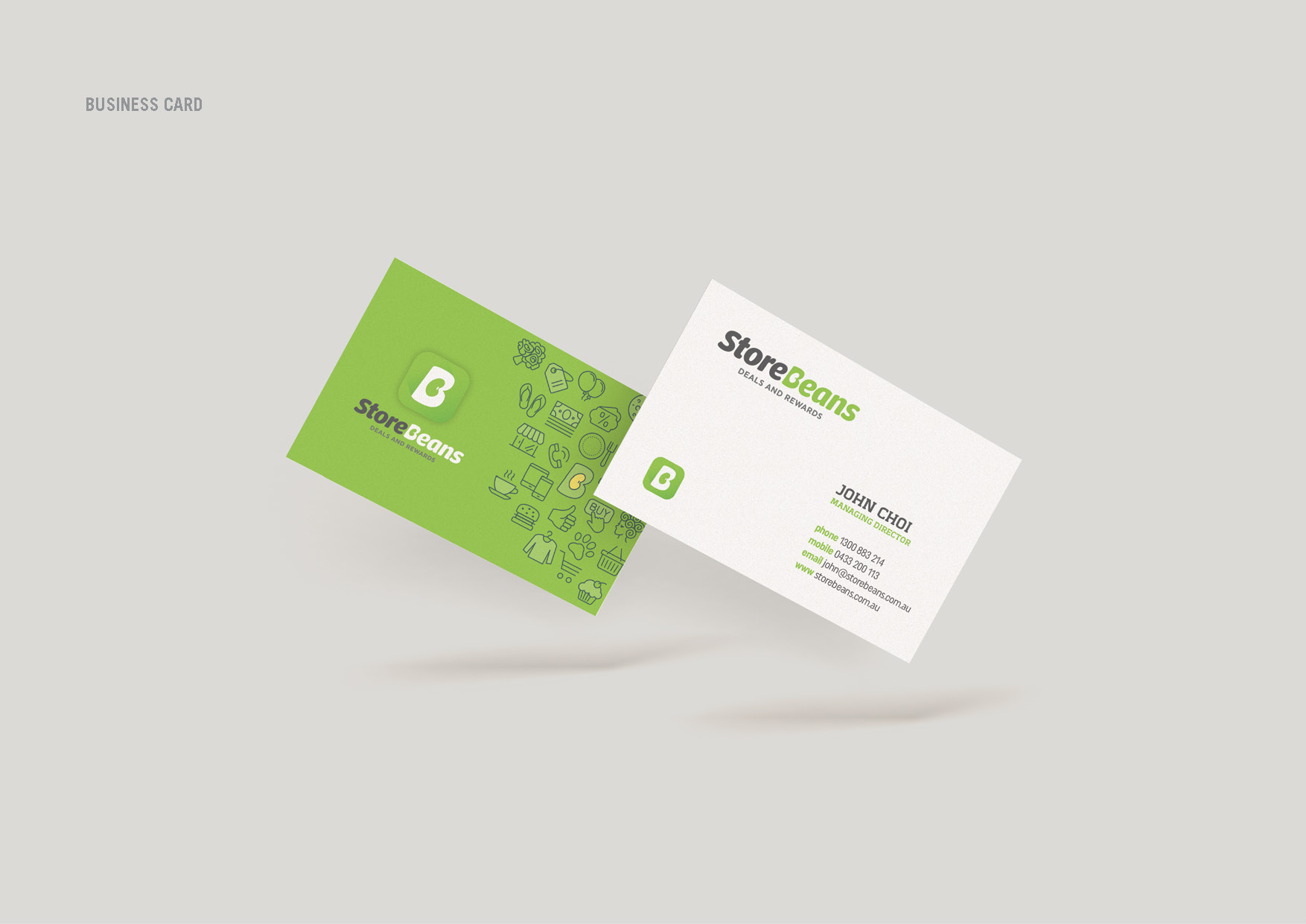 The idea house business card category graphic design printing reheart Images